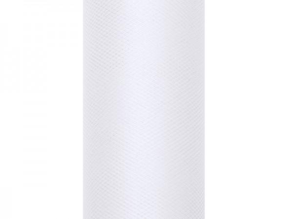 Levně Paris Dekorace Tyl v roli, bílý 30cm/9m