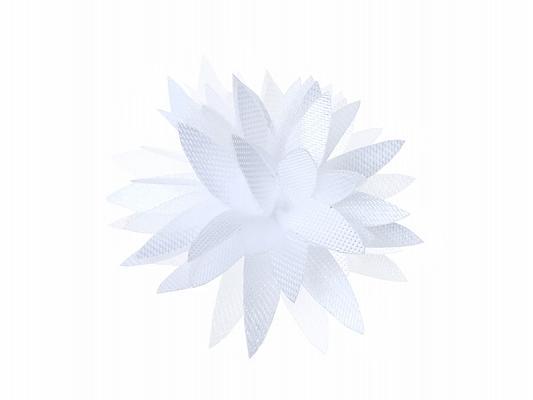 Paris Dekorace Svatební vývazky květ bílý
