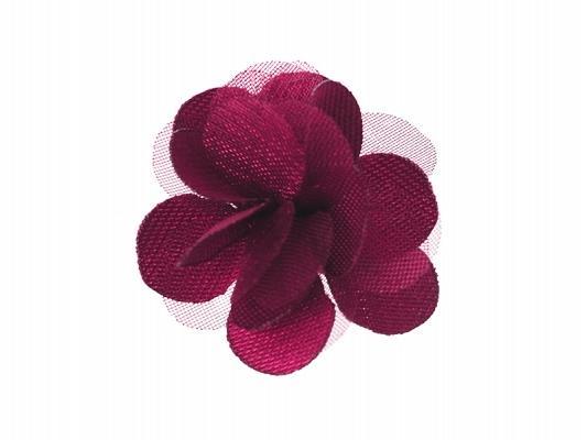 Paris Dekorace Svatební vývazky květ bordó